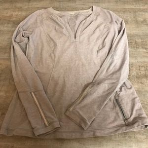 LuLuLemon Long Sleeve reflective running top sz.12